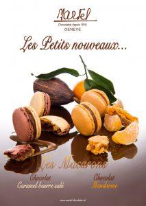 Affiche A1 nouveaux macarons Martel